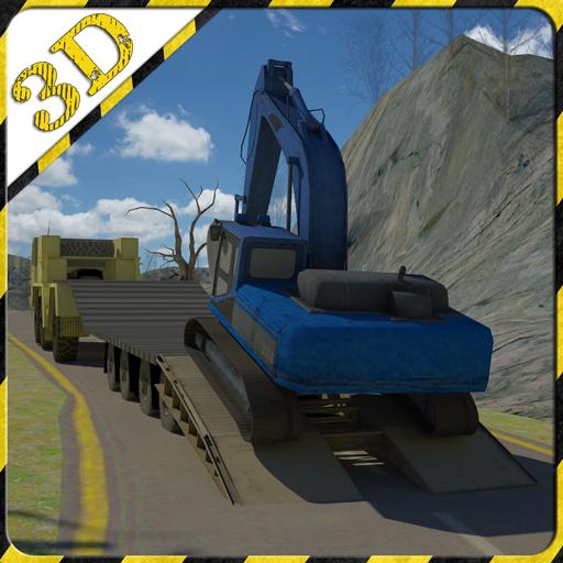模擬App|挖掘机转运救援 LOGO-3C達人阿輝的APP