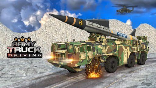 US Army Missile Attack : Army Truck Driving Games  screenshots 1
