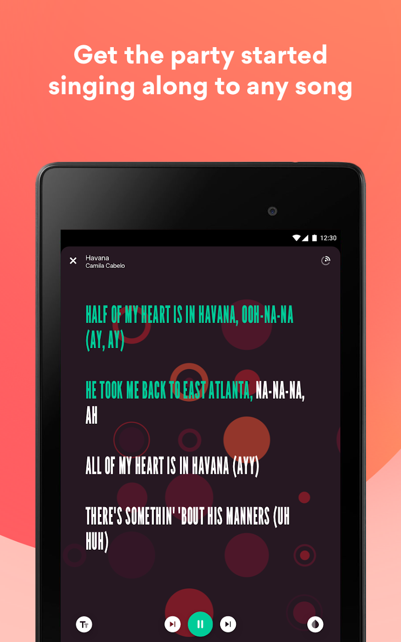 Musixmatch - Lyrics for your music Screenshot 18