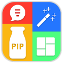 Pip Collage Maker Photo Editor icon