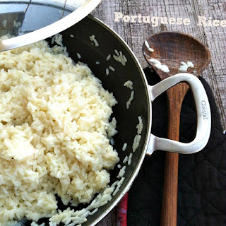 How to make Portuguese Rice.