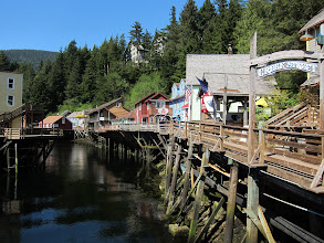 Photo: Creek Street, Ketchikan