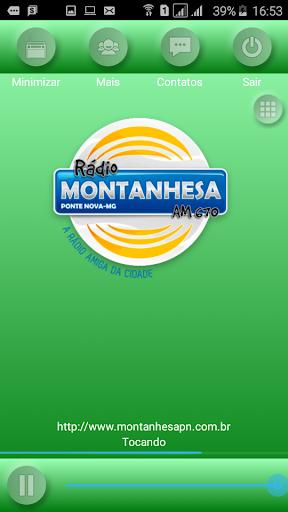 Rádio Montanhesa de Ponte Nova 2.0.0 screenshots 2
