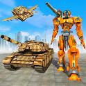 Flying Air Robot Transform Tank Robot Battle War icon