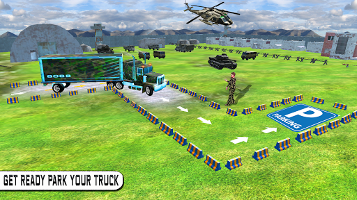 Army Truck Parking Mania