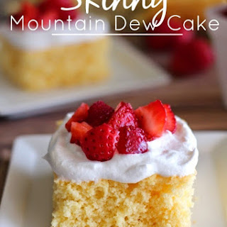 Skinny Mountain Dew Cake