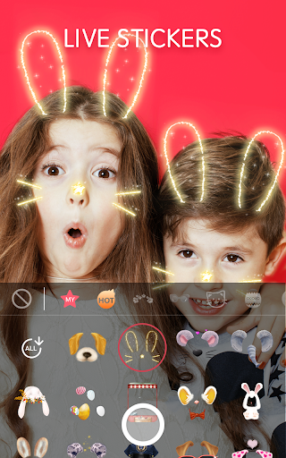 Sweet Snap - live filter,Selfie photo edit  screenshots 1