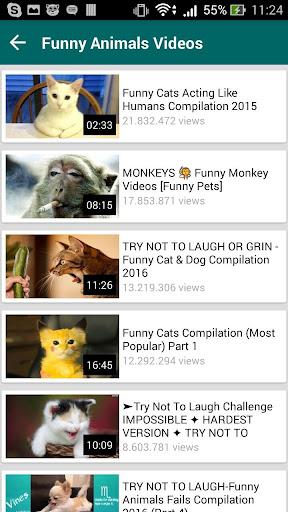 Funny videos for whatsapp 1.9 screenshots 4
