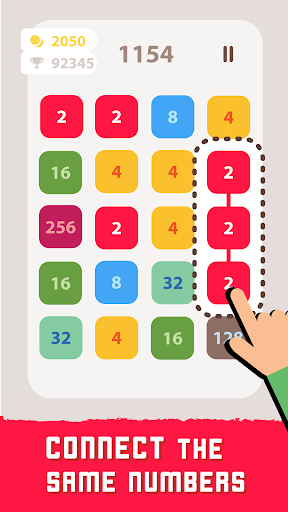 2248 Linked: Connect Dots & Pops - Number Blast screenshot 2