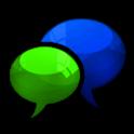 GO SMS Royal Kiwi Cobalt Theme icon