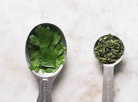Fresh Herbs Vs. Dried Herbs Recipe