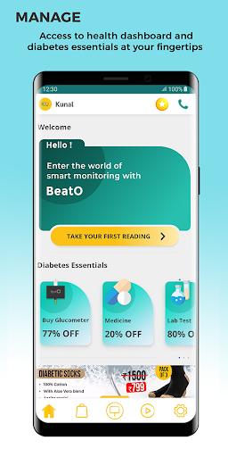 BeatO SMART Diabetes Management ss1