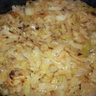 Bea's Baked Cabbage
