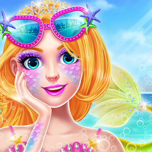 Mermaid Doll Fashion Makeover Icon