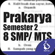 Kelas 8 SMP / MTS Mapel Prakarya Semester 2