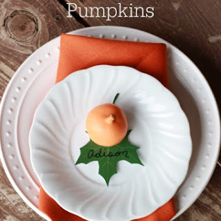 OREO Cookie Balls Pumpkins.