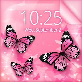 Pink Butterfly Live Wallpaper Android Aplicaciones Appagg
