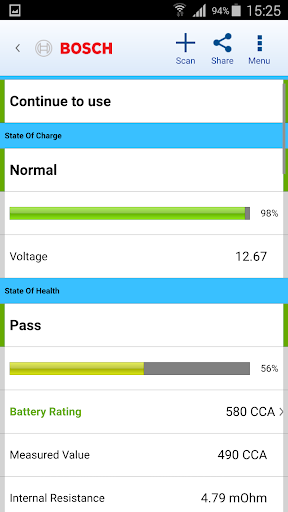 BAT 320 Smart Battery Tester