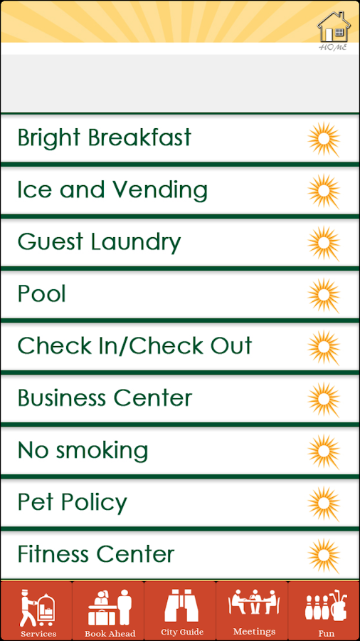 Concierge ToGo- screenshot