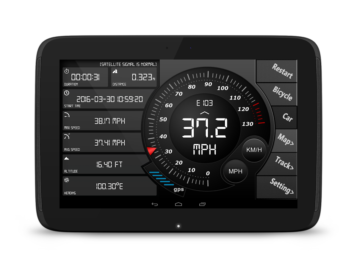 Digital Dashboard Gps Android Apps On Google Play