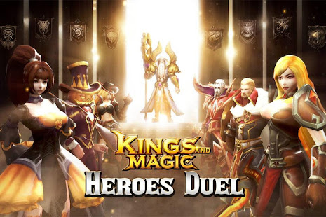 How to hack Kings and Magic: Heroes Duel for android free