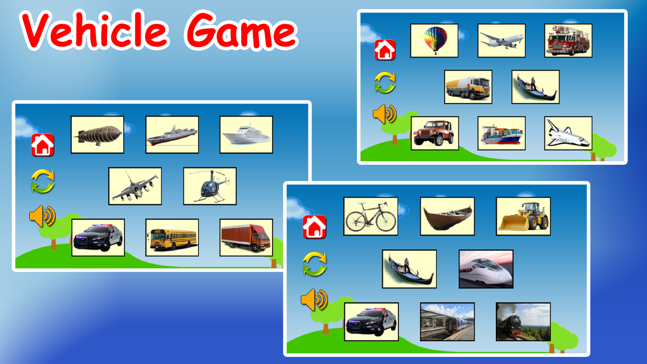 Learn Vehicles for Kids- screenshot