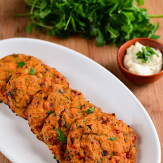 Tuna and Sweet Potato Patties