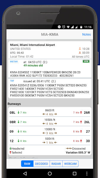 Download APK: PilotWeather v3.2 [Patched]