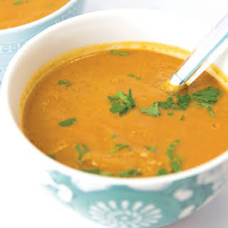 Vegan Cream of Tomato Soup.