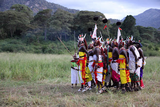 Photo: The Samburu dancing men
