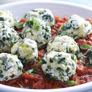 Chard and Ricotta Dumplings Recipe