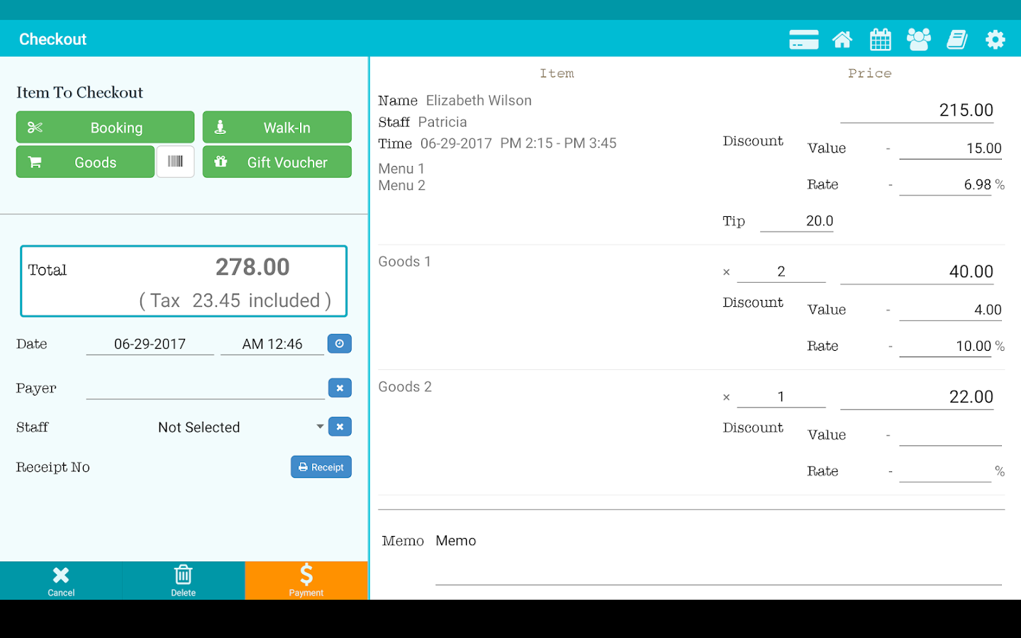 TapBiz Business Manager- screenshot