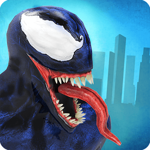 Venom Spider Superhero vs Amazing iron Spider hero