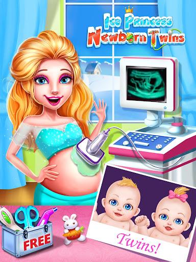 玩免費模擬APP|下載冰雪公主的雙胞胎寶貝 app不用錢|硬是要APP