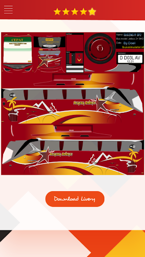 Livery Bussid Jetbus 3 Shd Update Apps On Google Play