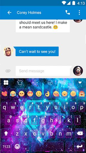 玩免費遊戲APP|下載Galaxy Flash Emoji Keyboard app不用錢|硬是要APP