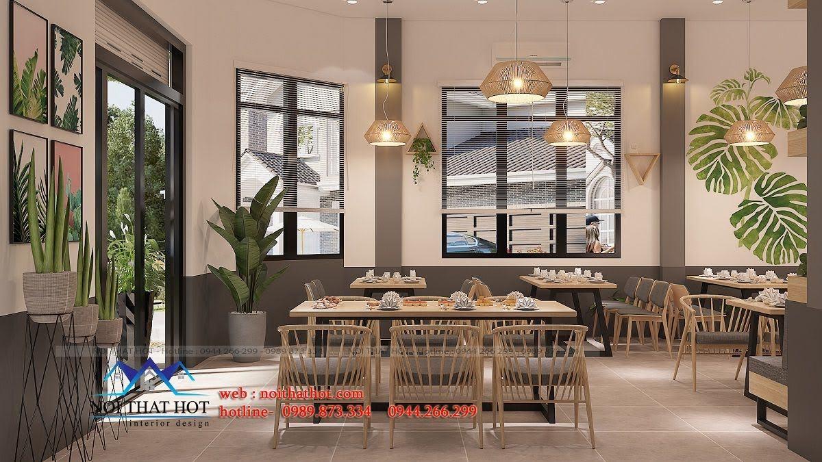 thiết kế nhà hàng trường giang 12