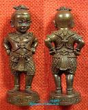 กุมารจินดามณี เนื้อทองแดง ก้นอุดผงหลวงพ่อสาคร สวยๆพร้อมกล่อง