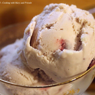 Brandied Cherry Ice Cream