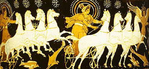 Εωσφόρος κοσμικός Θεός γιος της Ηούς και του Αστραίου.