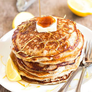 Bisquick Lemon Poppy Seed Pancakes