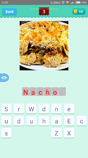 American Food Quiz - náhled