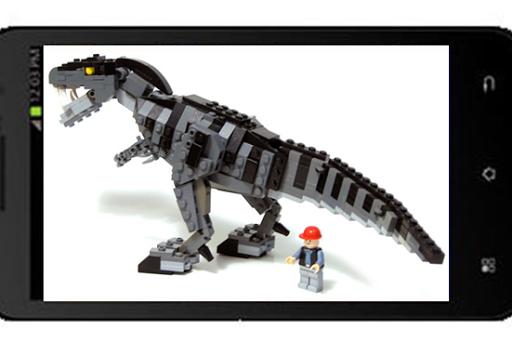 滑動拼圖樂高侏羅紀