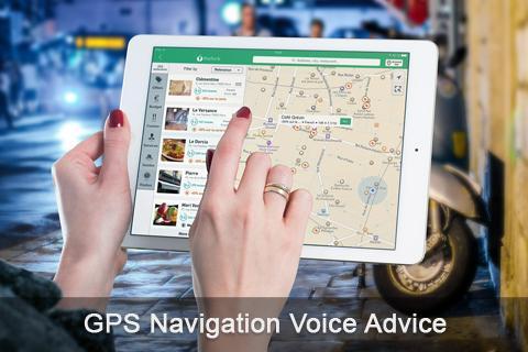 GPS Navigation Voice Advice - screenshot