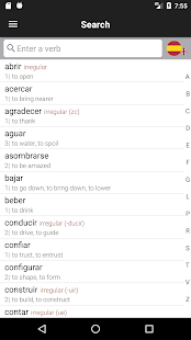 Spanish Verbs & Conjugation - VerbForms Español L- screenshot thumbnail