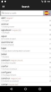 Spanish Verbs & Conjugation - VerbForms Español L - náhled