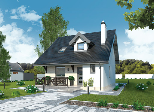 projekt Dom na rozstaju - C214