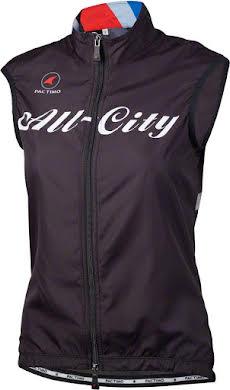 All-City Team Men's Vest: Black/Red/Blue alternate image 1