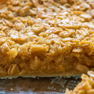 Classic Amish Oatmeal Pie.