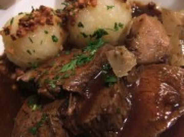 Spicy Wine Pot Roast Recipe